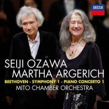 483 2566DH. BEETHOVEN Symphony No 1. Piano Concerto No 1 (Argerich)