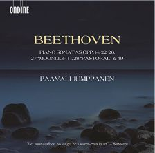 ODE1280-2D. BEETHOVEN Piano Sonatas Opp 14, 22, 26, 27, 28 & 49