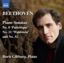 8 573400. BEETHOVEN Piano Sonatas Nos 8, 21 and 32