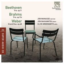 HMU80 7618. BEETHOVEN; BRAHMS Piano Trios
