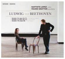 MIR360. BEETHOVEN Violin Sonatas Nos 3, 7 & 10