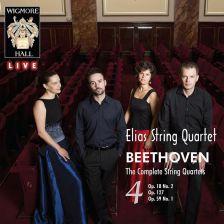 WHLIVE0089. BEETHOVEN Complete String Quartets Vol 4