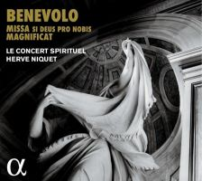 ALPHA400. BENEVOLO Missa Si Deus pro nobis. Maginifcat
