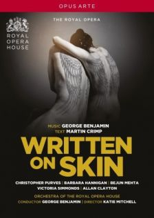 OA 1125 D. BENJAMIN Written on Skin