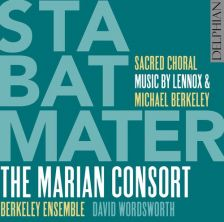 DCD34180. L BERKELEY Stabat Mater M BERKELEY Touch Light