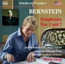 8 559790. BERNSTEIN Symphonies Nos 1 & 2