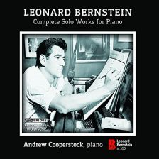 BRIDGE9485. BERNSTEIN Complete Solo Piano Works