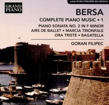 GP767. BERSA Complete Piano Music Vol 1