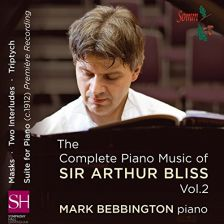 SOMMCD0148. BLISS Piano Music Vol 2