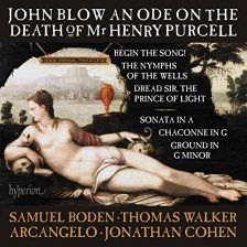 CDA68149. BLOW An Ode on the Death of Mr Henry Purcell