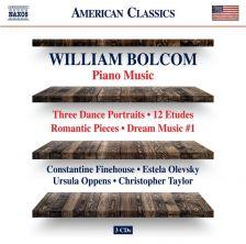 8 559832-34. BOLCOM Piano Music