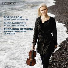 BIS2366. BORGSTRÖM; SHOSTAKOVICH Violin Concertos