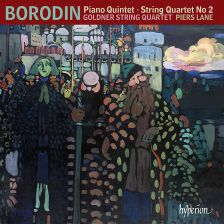 CDA68166. BORODIN Piano Quintet. String Quartet No 2