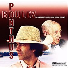BRIDGE9456A/B. BOULEZ Complete Piano Music