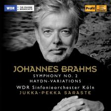 PH17057. BRAHMS Symphony No 2. Variations on a Theme by Haydn (Saraste)