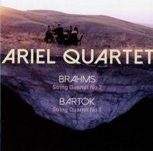 AV2384. BARTÓK; BRAHMS String Quartets (Ariel Quartet)
