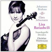 Brahms Violin Concerto; C Schumann 3 Romances