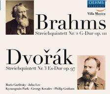 OC1829. BRAHMS; DVOŘÁK String Quartets