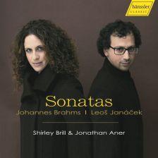 CDHC17001. BRAHMS; JANÁČEK Clarinet Sonatas