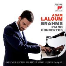 88985 46081-2. BRAHMS Piano Concertos (Laloum)