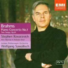 Brahms Piano Concerto No. 1/Lieder op.91