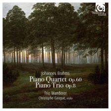 HMC90 2222. BRAHMS Piano Quartet No 3. Piano Trio No 1