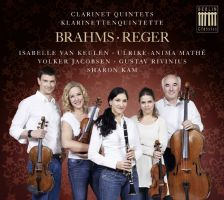 0300643BC. BRAHMS; REGER Clarinet Quintets