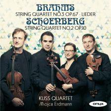 ONYX4166. BRAHMS; SCHOENBERG String Quartets