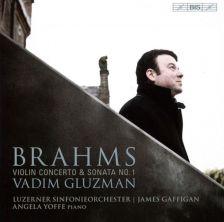 BIS2172. BRAHMS Violin Concerto. Violin Sonata No 1