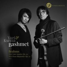 FON1802030. BRAHMS Viola Sonatas. Rhapsodies