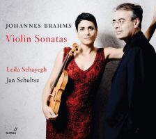 GCD924201. BRAHMS Violin Sonatas (Schayegh, Schultsz)