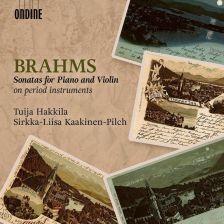 ODE1315-2. BRAHMS Violin Sonatas (Kaakinen-Pilch, Hakkila)