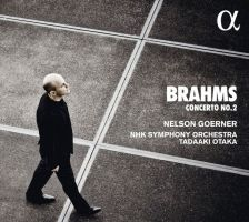 ALPHA395. BRAHMS Piano Concerto No 2 (Goerner)