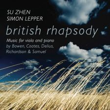 5060192 780352. British Rhapsody: Music for Viola and Piano. Su Zhen