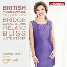 CHAN10899. British Violin Sonatas