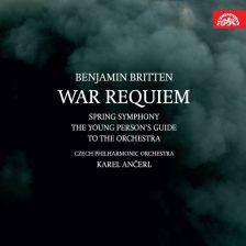 BRITTEN War Requiem. Spring Symphony. Karel Ancerl
