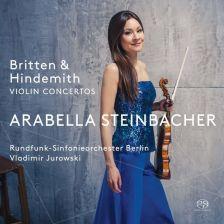 PTC5186 625. BRITTEN; HINDEMITH Violin Concertos