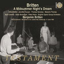 SBT2 1515. BRITTEN A Midsummer Night's Dream