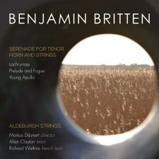 CKD478. BRITTEN Serenade for Tenor, Horn & Strings