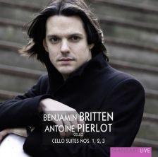 TR169. BRITTEN Cello Suites. Antione Pierlot