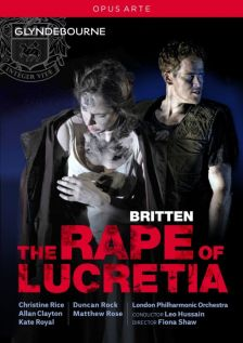 OA1219D. BRITTEN The Rape of Lucretia