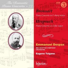 CDA68229. BRONSART; URSPRUCH Piano Concertos