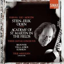 PSC1313. BROUWER; VILLA-LOBOS; KOSHKIN Guitar Concertos