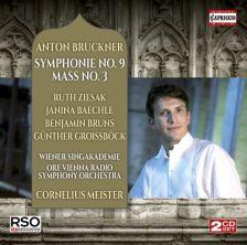 C5247. BRUCKNER Mass No 3. Symphony No 9
