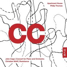 HCR16CD. CAGE Concert for Piano and Orchestra WOLFF Resistance