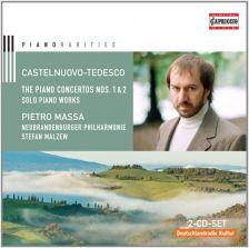 C5156 CASTELNUOVO-TEDESCO Piano Concertos Nos 1 & 2. Solo Piano Works Pietro Massa