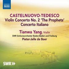 8 573135. CASTELNUOVO-TEDESCO Concerto Italiano. Violin Concerto No 2
