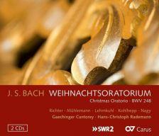 CARUS83 312. JS BACH Christmas Oratorio (Rademann)
