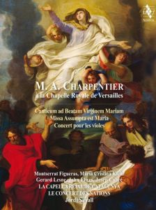 AVDVD 9905. Charpentier at the Royal Chapel in Versailles
