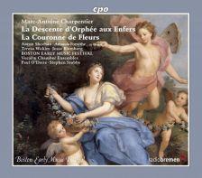 CPO777 876-2. CHARPENTIER Le Dexcente D'Orphee Aux Enfers. La Couronne de Fleurs
